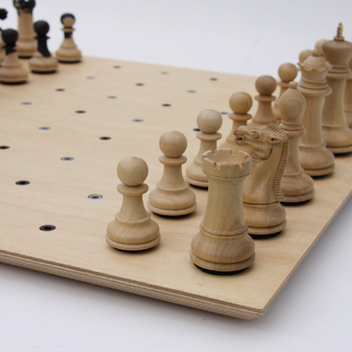 cool chessboard wood