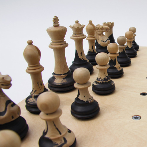 A brand new chess board setup giving more transparency - Chess nice image ...