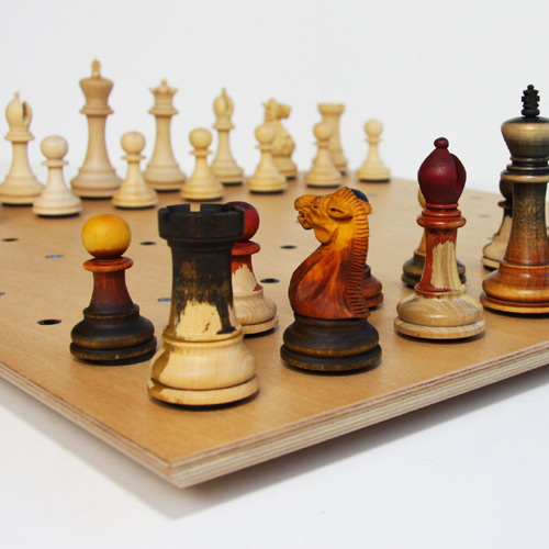 Captivating Cool Chess Set