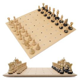 Luxury chess set triple weighted staunton
