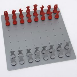contemporary chess pieces